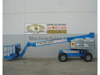 Boomlift, 51 Foot Working Height, 45 Foot Basket Height, Diesel, 4WD, JIB, Welder