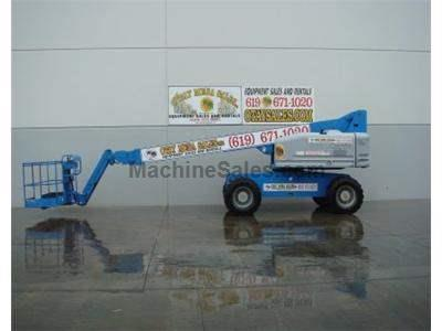 Boomlift, 71 Foot Working Height, 65 Foot Basket Height, JIB, Diesel, 4x4, Generator