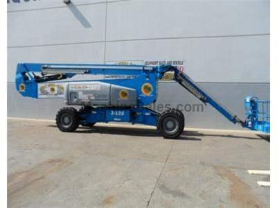 Articulated Boomlift, 141 Foot Working Height, 135 Foot Reach Height, 70 Foot Forward Reach