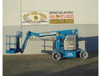 Electric Boomlift, 34 Foot Basket Height, 40 Foot Working Height, 22 Foot Forward Reach