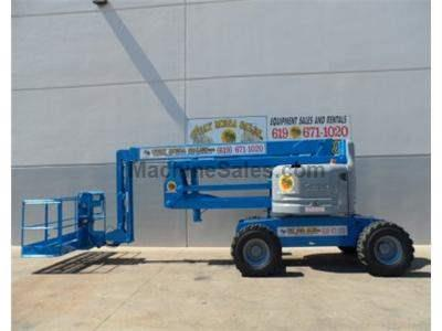 Articulated Boomlift, 60 Foot Reach Height, 34 Foot Horizontal Reach, Basket and Ground Controls