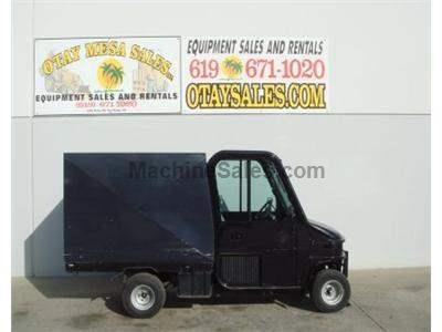 Utility Cart, Enclosed Cab, Enclosed Cargo Bed, 2400lb Capacity, 3 Cyl Gas Engine