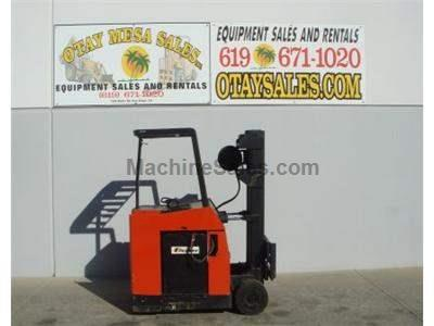 4000LB Forklift, Stand Up Counter Balance, 3 Stage, Side Shift, Warrantied Battery, Includes Charger