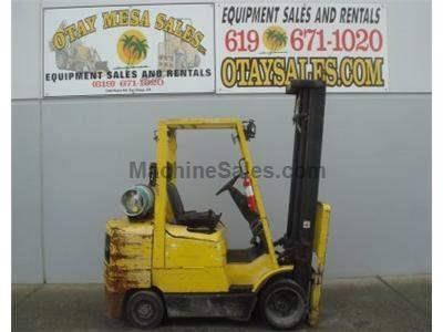 6000LB Forklift, 3 Stage, Cushion Tire, Propane, Automatic