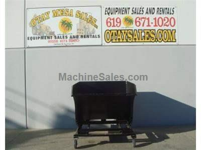 Tilt Dumpster Attachment for Forklifts, 2 Yard Capacity