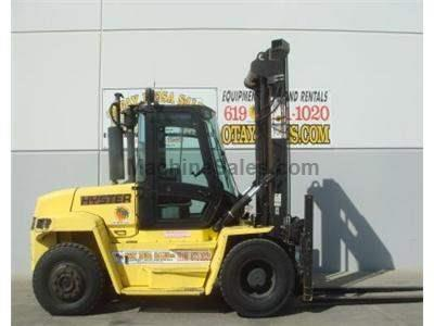 19000LB Forklift, Dual Pneumatic Tire, Diesel, Side Shift, 8 Foot Forks, 183 Inch Lift Height