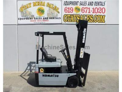 3000LB Forklift, 3 Wheel Electric, 36v, 3 Stage, Side Shift