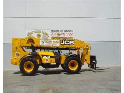 10000LB Telehandler Reach Truck, 56 Foot Reach Height, Body Tilt, 4 Wheel Drive