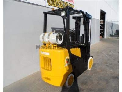 5000LB Forklift, Cushion Non-Mark Tires, 3 Stage, Propane, Automatic
