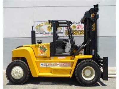 36000LB Forklift, Pneuamtic Tires, Diesel, 8 Foot Forks, Side Shift, Fork Positioner