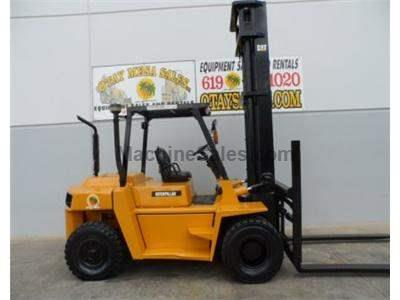 15500LB Forklift, 217 Inch Lift, Automatic Transmission, Diesel
