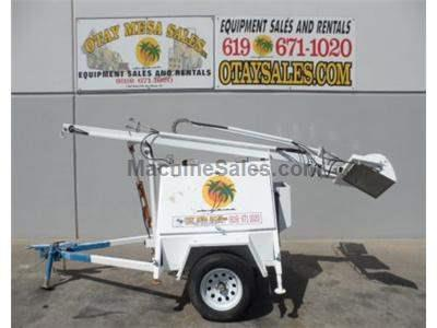 Light Tower, 4 Light Adjustable, 4kw Genset, Diesel Power