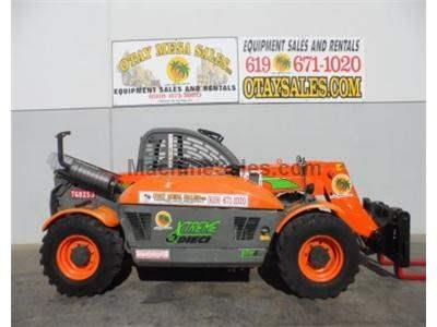 6000LB Telehandler Forklift, 21 Foot Reach, 4x4, 4 Way Steer, Auxiliary Hydraulics
