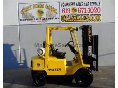 5000LB Forklift, Pneumatic Tires, 3 Stage, Side Shift, Propane Power, Automatic Transmission