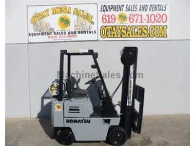 3000LB Forklift, Cushion Tires, 3 Stage, Side Shift, Automatic Transmission, Propane Power