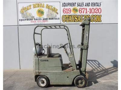 4000LB Forklift, Cushion Tires, Propane, Automatic