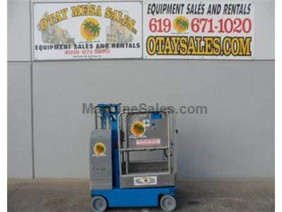 Single Man Lift, 12 Foot Platform, 18 Foot Working Height, Self Propelled, Power to Platform