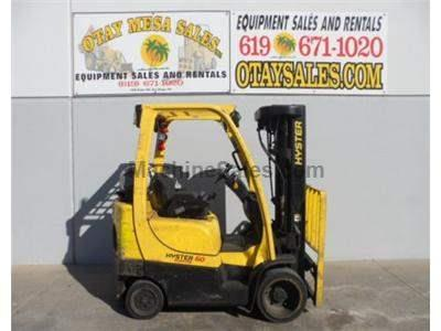 5000LB Forklift, Cushion Tires, 4 Stage 240 Inch Mast, Side Shift, Propane, Automatic Transmission
