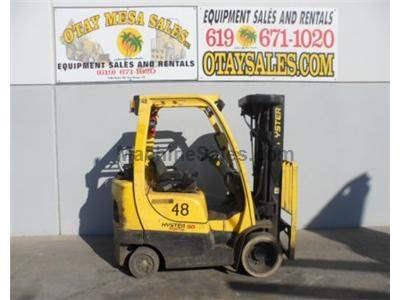 5000LB Forklift, Cushion Tires, 4 Stage, Side Shift, Propane, Automatic Transmission