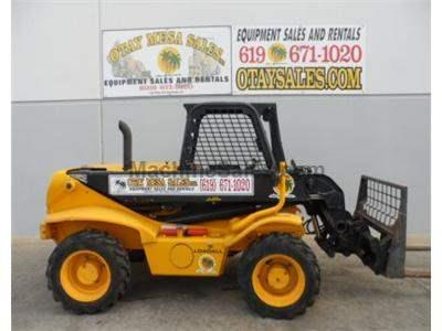 Reach Forklift, 4x4,  Diesel, 4 Way Steer, Auxiliary Hydraulics, Coupler