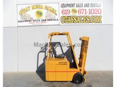 3000LB Electric Forklift, 3 Wheel Sit Down, 3 Stage, Warrantied Battery, Includes Charger