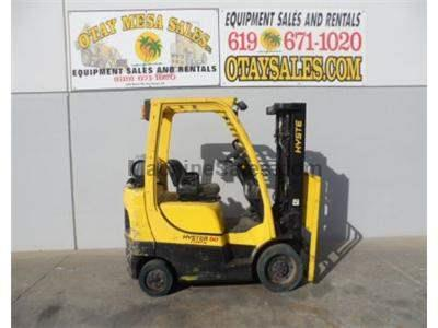 5000LB Forklift, Cushion Tires, 3 Stage, Side Shift, Propane, Automatic Transmission