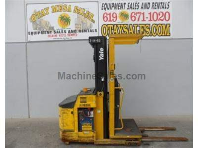3000LB Order Picker, 195 Inch Lift, 24 Volt, Warrantied Battery, Includes Charger