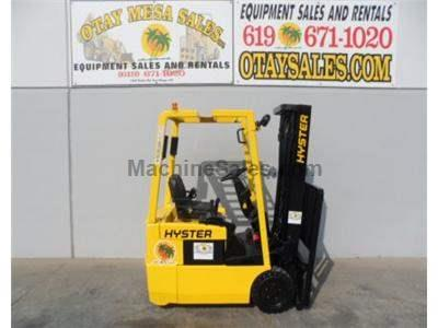3000LB Forklift, Electric, 3 Wheel, 3 Stage, Side Shift, 36 Volt, Warrantied Battery, Includes Charger