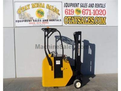 3000LB Forklift, Stand Up, Counter Balanced, 3 Stage, Side Shift, 24 Volt, Warrantied Battery