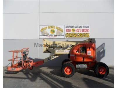 Articulated Boomlift, 51 Foot Working Height, 45 Foot Platform Height, 4x4, Dual Fuel