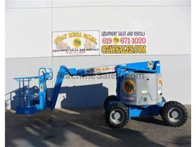 Articulated Boomlift, 40 Foot Working Height, 34 Foot Basket Height, 22 Foot Forward Reach