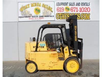 12000LB Forklift, Cushion Tires, Automatic Transmission, Gasoline Powered