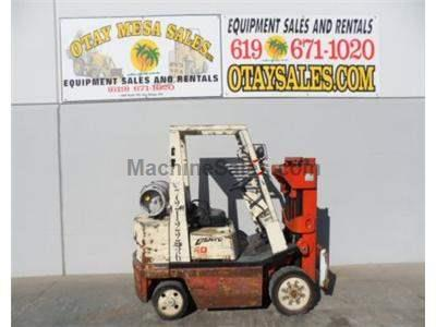 4000LB Forklift, Cushion Tires, Propane Powered, Automatic Transmission