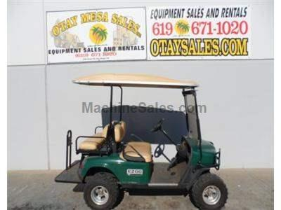 Golf Cart, Gasoline Powered, Fold Down Rear Seat