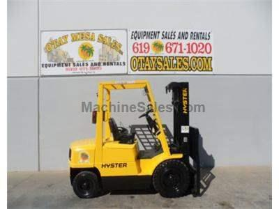 4000LB Forklift, Pneumatic Tires, 3 Stage, Side Shift, Diesel, Automatic