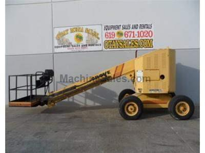 Boomlift, 40 Foot Working Height, 34 Foot Platform Height, Pneumatic Tires