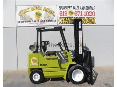 5000LB Forklift, Pneumatic Tires, 3 Stage, Side Shift, Propane, Automatic Transmission