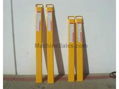 New 6 Foot Forklift Extensions, On Special, Half Inch Steel Construction, American Made