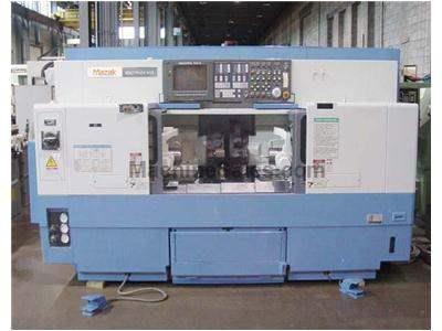 Mazak 610 Multiplex Twin Spindle CNC Lathe with Live Tooling