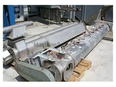 Conveyor, 10' Twin-screw, s.s., no motor