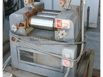 "Keith 3-roll Mill w/ 4"" diam. rolls"