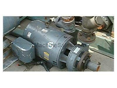 PUMP WITH 30 H.P. MOTOR