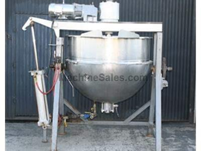 200 gallon Hamilton Double-motion Jacketed Kettle