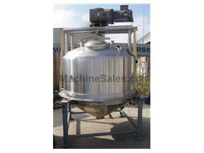 500 gallon APV Crepaco Jacketed Tank w/ sweep agitator