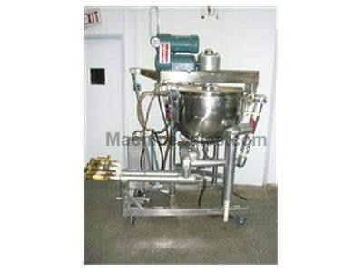 50 gallon Hamilton Jacketed Kettle w/ Agitator
