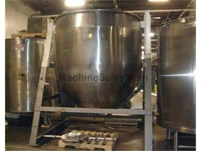 1,500 gallon Lee Jacketed Tank w/ Mixer