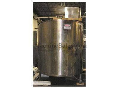 1,500 gallon Tolan Jacketed Tank w/ Mixer