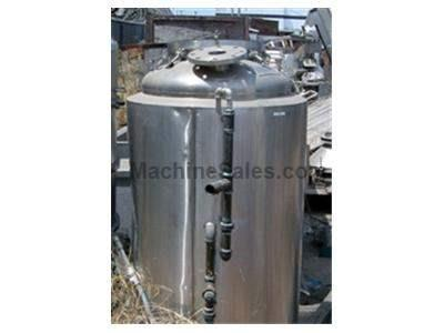 SCHWEITZER'S 125 GALLON JACKETED TANK       #3522