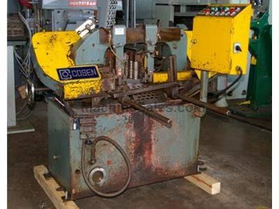 "10"" X 10"" COSEN MODEL AH250 AUTOMATIC HORIZONTAL BAND SAW"
