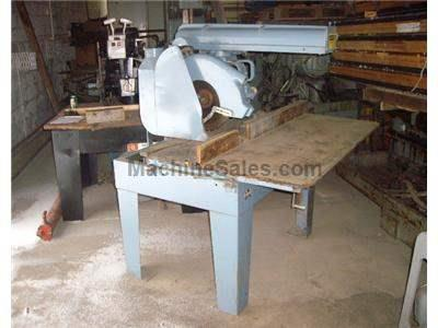 Gesner Radial Arm Saw